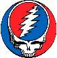 Figure 1: The Grateful Dead Steal Your Face icon