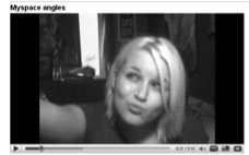 Figure 4: A MySpace Angles how-to video