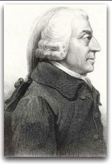Figure 7: etching of Adam Smith