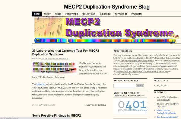 MECP2 blog