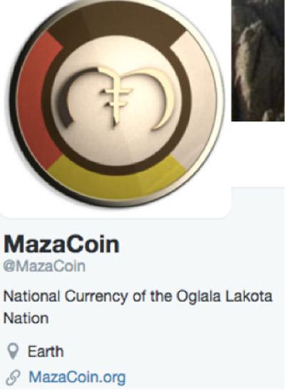 MazaCoin Twitter profile