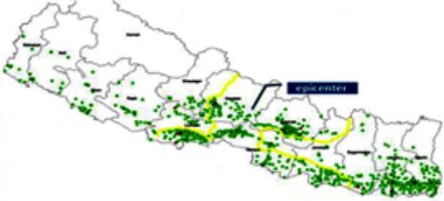3G sites on 20 April 2015