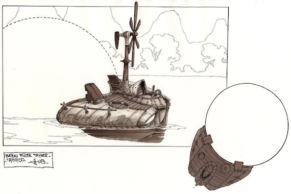 Design sketch of Miyazakian technology (not implemented)