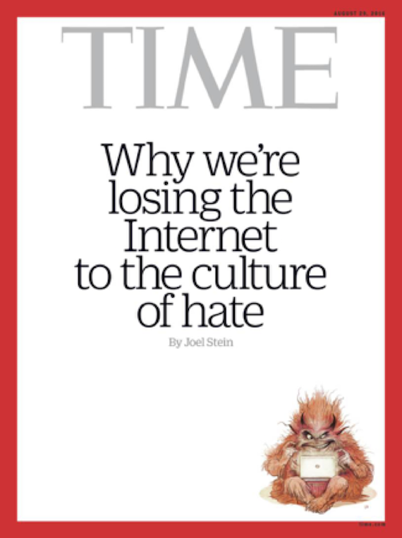 Time troll cover for 18 August 2016