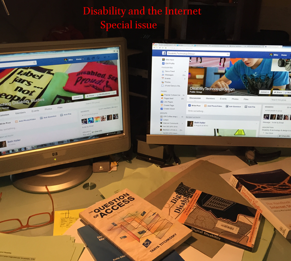 Special issue: Disability and the Internet