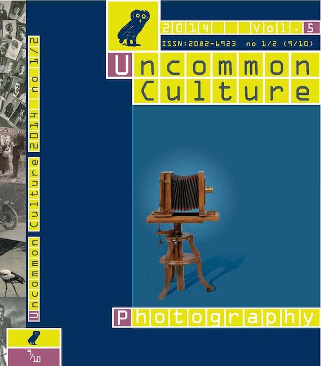Vol. 5, no. 9/10 (2014): Photography
